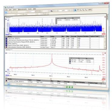 oscilloscope and daq software