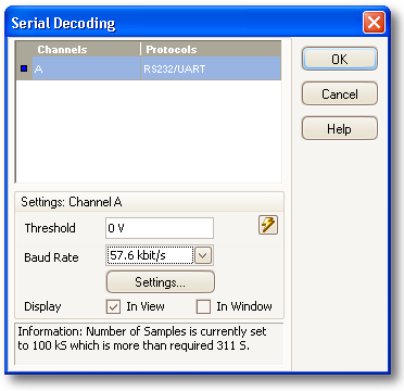 serial decoding